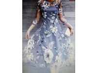 Elegant floral printed midi dress - REALLY