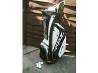 Taylormade RBZ Stage 2 Golf Bag + Clubs, Balls & Tees