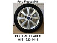Ford. Fiesta. Alloy wheels inc tyres