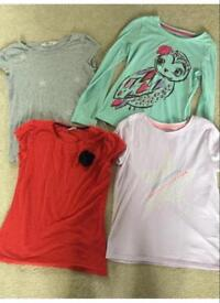 selection of 10-11 girls tops £2 for all