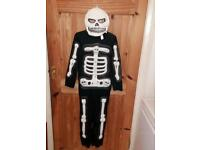 Halloween Costume - Skeleton Outfit (8-10yrs)