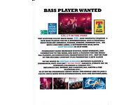 Bass player wanted for established Celtic Rock Band - CAL