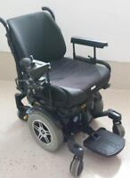 Used Quantum Power Electric Wheelchair like new