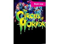 4 x Circus of Horrors tickets for Blackpool 31st October!!