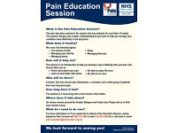 Chronic Pain Education Classes across Greater Glasgow and Clyde