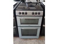 6 MONTHS WARRANTY 55CM WIDE Belling double oven electric cooker FREE DELIVERY