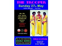 SUNDAY 27th MAY - 60s 70s SOUL / REGGAE / MOTOWN / NORTHERN SOUL with DOUBLE BARREL - ST GEORGE
