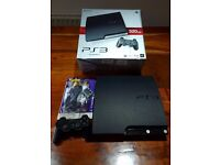 Sony playstation 320 GB slim boxed with games £80