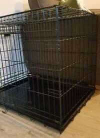 """30"""" Black dog cage"""