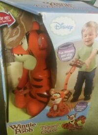 Disneys winnie the pooh Tigger chase toy