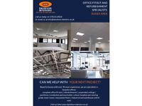Davidson interiors, specialists in refurbishments, suspended ceilings, partitions and residential