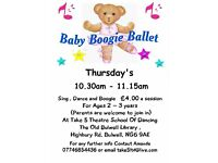 BABY BOOGIE BALLET FOR 2 -3 YEAR OLDS