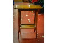 50s Oak Side Table