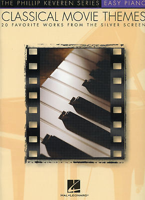Classical Themes Easy Piano - Easy Piano-Classical Movie Themes-20 Favorites From The Silver Screen-Music