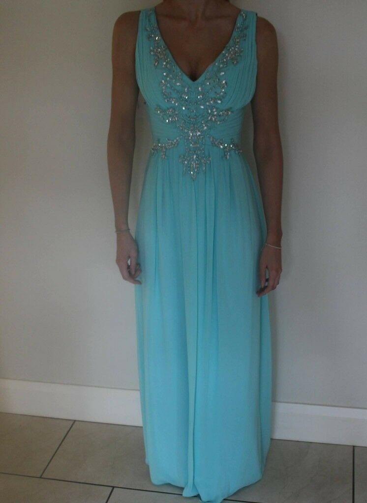 Aqua Teal Formal Dress Quiz Clothing In Cookstown County Tyrone