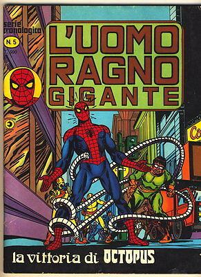 L'UOMO RAGNO GIGANTE 5 CORNO 1976 VITTORIA DI OCTOPUS