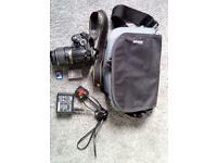 Nikon D D3000 10.2MP Digital SLR Camera - Black (Inc 18-55mm Lens & Accessories)