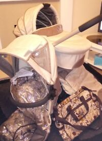Icandy Cherry Fudge Travel System REDUCED TO CLEAR!