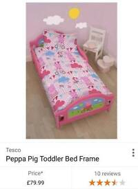 Peppa bed with mattress