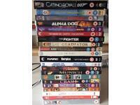 Joblot of 36 movies / DVDs