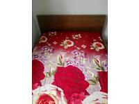 Move out sale - IKEA queen size bed - excellent condition