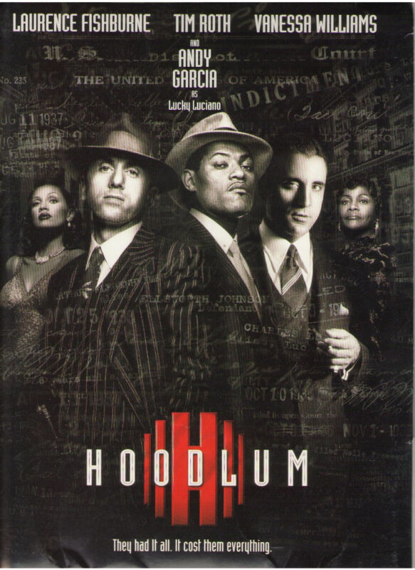 HOODLUM PRESS KIT FISHBURNE ROTH GARCIA VANESSA WILLIAMS CICELY QUEEN LATIFAH