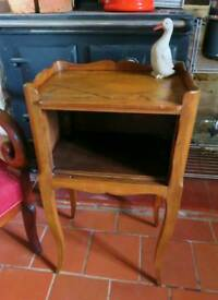 French vintage cherry wood cabinet