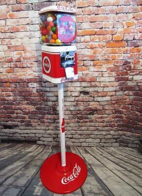 Coke memorabilia vintage gumball machine Acorn glass Coca cola unique gift