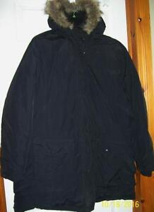 Ladies Size 2x down filled coat 3/4 length