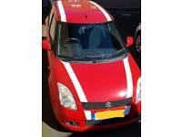 Suzuki swift vvt glx red cheap car