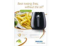 Philips HD9220/20 Healthier Oil Free Airfryer - Black rrp £120