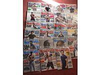Mens health magazines (23 total)