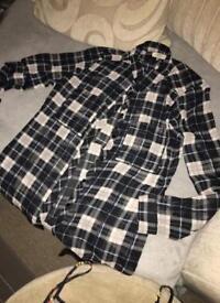 Checkered Shirt, jumper & top.