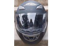 Shox Bullet size M flip-up motorcycle helmet