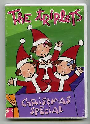 The Triplets - Christmas Special (DVD) Latin Animation, BRAND NEW! ()