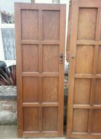 Four Interior Solid Wood Doors