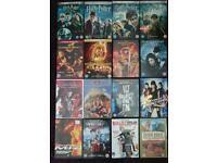 Job lot of 34 movies on dvd
