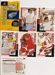 1997-1998-Detroit-Red-Wings-Score-Special-Issue-team-set-20-cards-Yzerman-etc