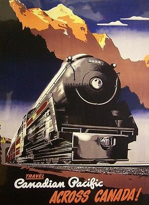 Jigsaw Puzzle Train Travel Cp Across Canada 1000 Piece Made In The Usa