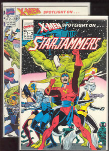 Starjammers-Marvel-Comics-XMEN-X-Men-Spotlight-Dave-Cockrum-Art-High-Grade-CGC
