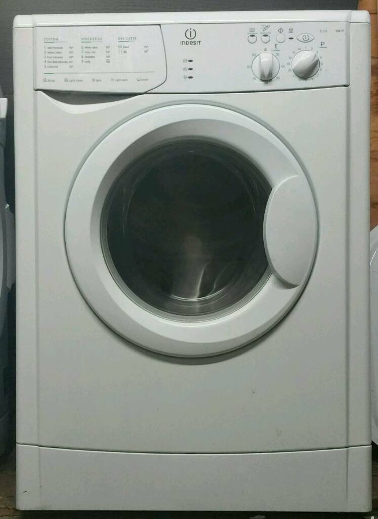Indesit 6kg washer delivered + installed