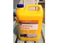 Quick Drying Stabilising Solution 4.5litres for masonry exterior or interior walls