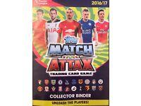 Match Attax cards swap