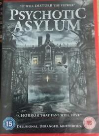 Psychotic asylum Dvd movie new and sealed