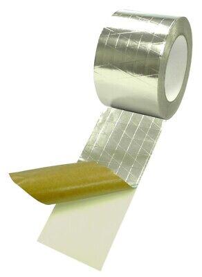 T.r.u. Reinforced Aluminum Foilscrimkraft Jacketing Insulate Tape 2 X 50 Yds
