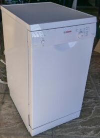 Bosch Slim Dishwasher. Little used and in excellent condition.