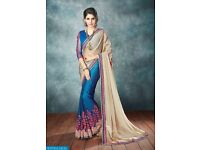 HITANSH EXOTICA VOL-6 WHOLESALE PARTY-WEAR SAREE