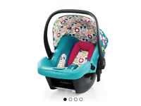Car seat and isofix base