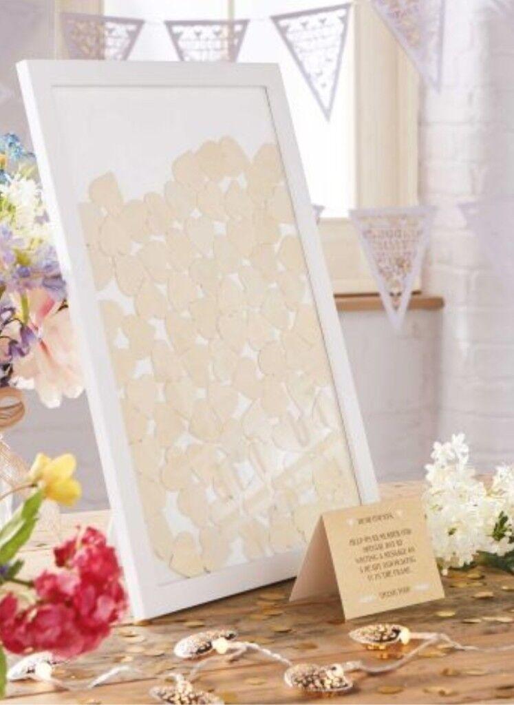 Wedding frame guest book | in Plymouth, Devon | Gumtree