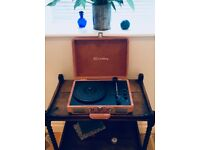 Crosley Peach Velvet Cruiser Bluetooth Record Player
